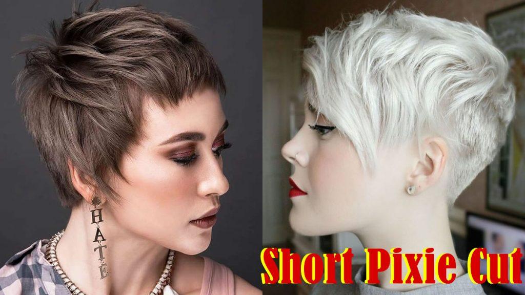 Kurze Pixie-Frisuren 2021-2022