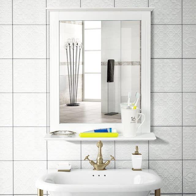 Homfa Badezimmer Wandspiegel