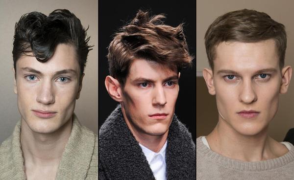 längliche Frisuren für Männer