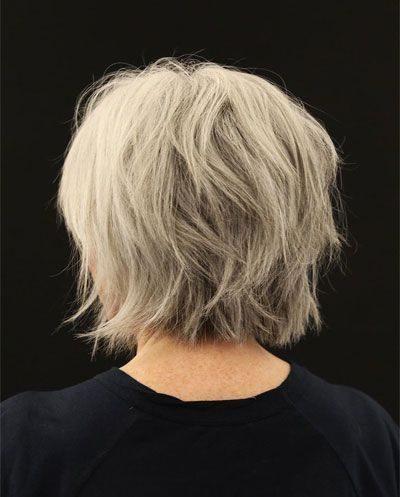 dünne Frisuren für ältere Frauen
