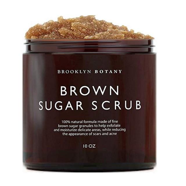 Brooklyn Botany Körperpeeling mit braunem Zucker