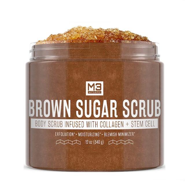 M3 Naturals Peeling mit braunem Zucker