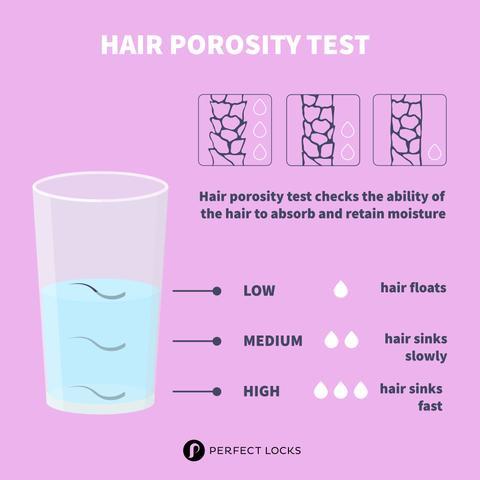 Haarporositätstest