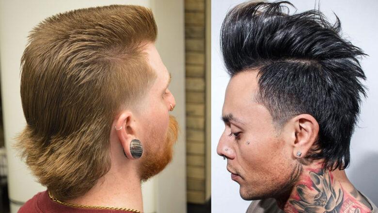 22 Easy Mullet-Frisuren für immer coole Männer in den ...