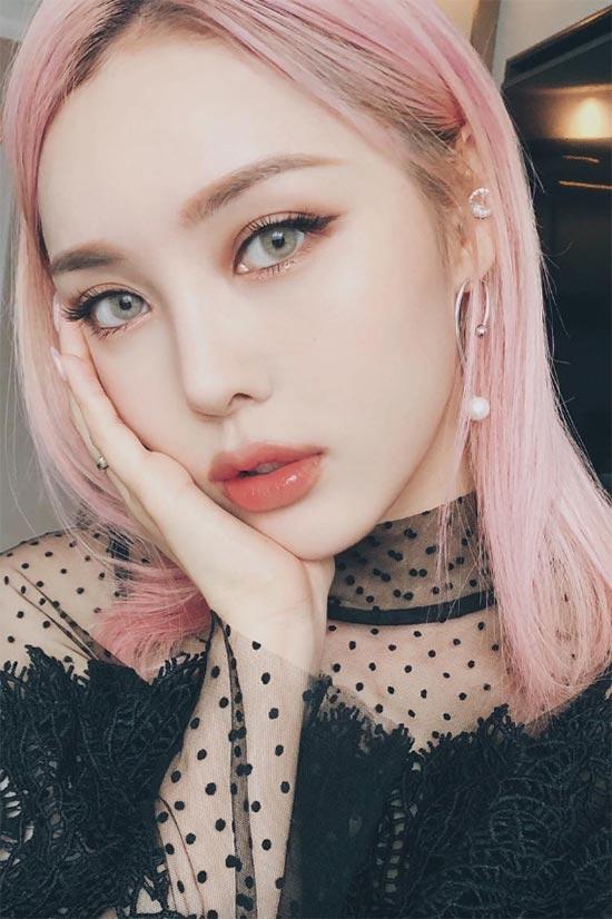 Koreanisches Make-up machen Make