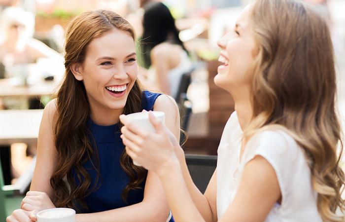 Verwenden Sie positive Worte, wenn Sie mit anderen sprechen