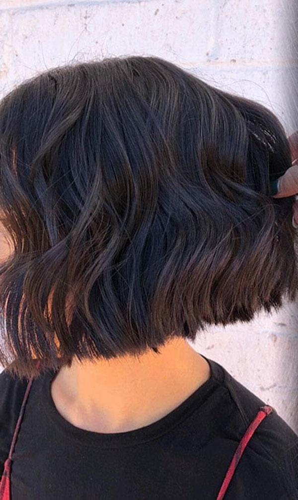 Frisuren für Bob-Haare