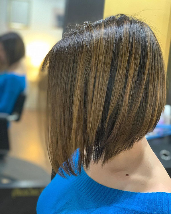 Bob geschnittenes Haar für Frauen