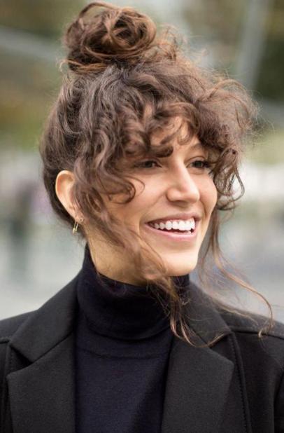 FantaaTrendiest Short Brown Hair Colors to Considerstic Curly Perms für kurzes Haar
