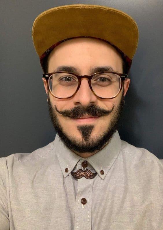 Schnurrbart-Stil 5