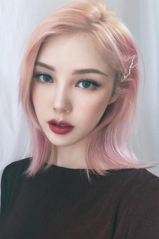 Koreanische Make-up-Routine