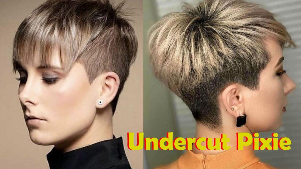 Hinterschnittene Pixie-Haarschnitte in den Jahren 2021-2022