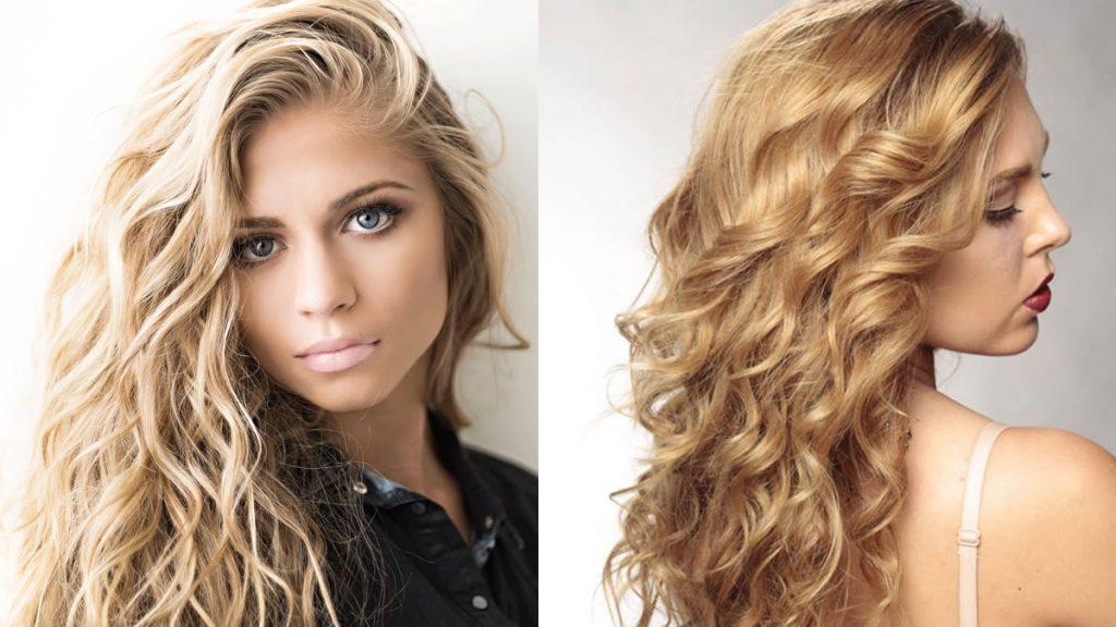 Wellenförmige lange Frisuren für Frauen 2021-2022