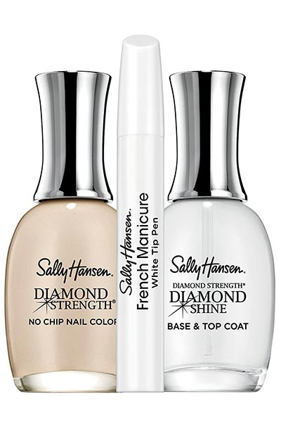 Die besten French Manicure Kits: Sally Hansen Diamond Strength French Manicure Pen Kit in Barely There