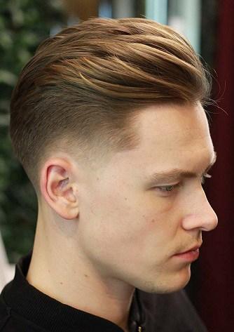 Servieren und schützen Sie Marine Haircut