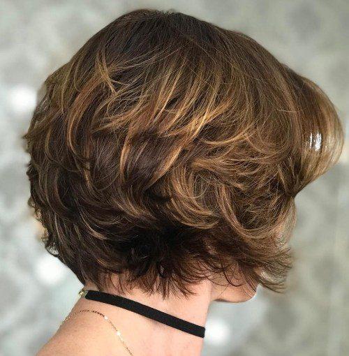 Kurze Frisuren für dickes Haar
