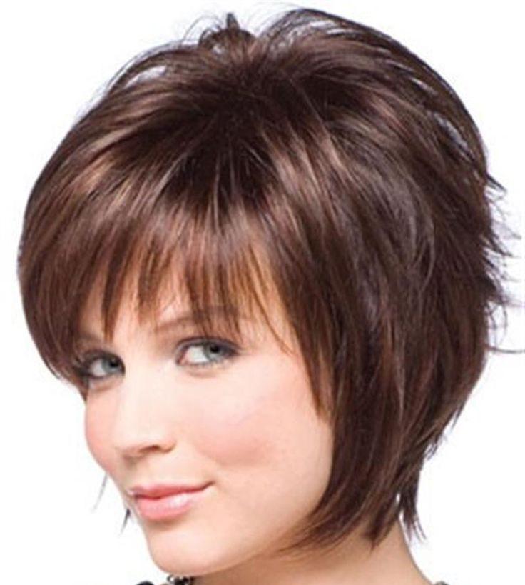 Kurze Frisuren für runde Gesichter