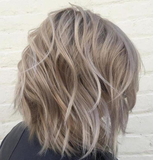 Mittelblond für kurzes Haar