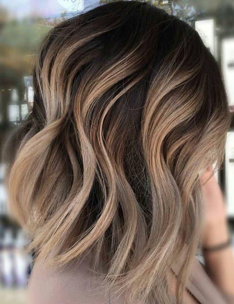 Braunblonde Haarfarben für kurze Haare
