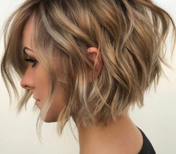 schulterlange süße kurze haarschnitte