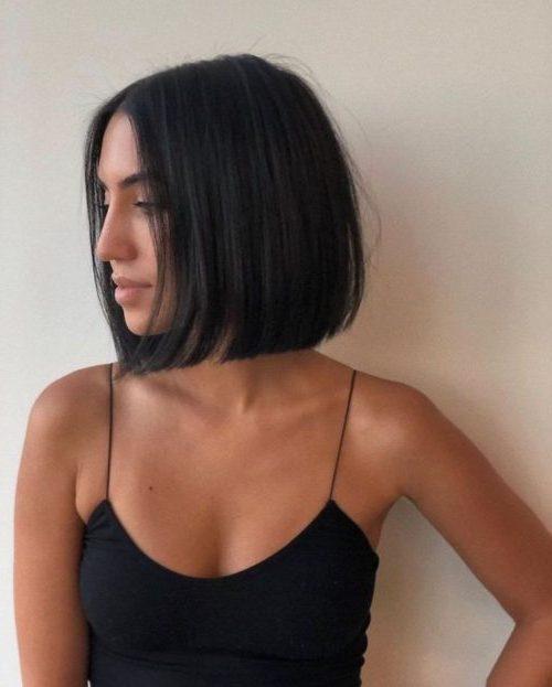 Schulterlange Kurzhaarfrisuren für dickes Haar