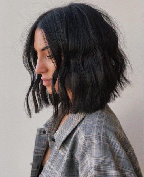 kurze haarschnitte dickes grobes haar
