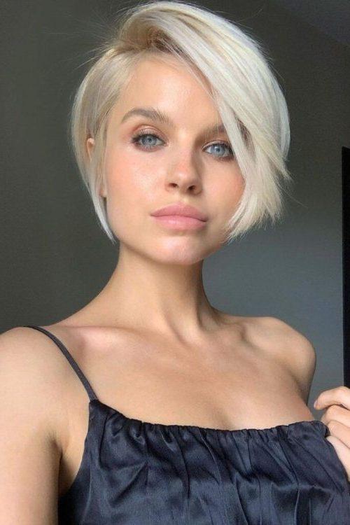 Pixie süße kurze Haarschnitte