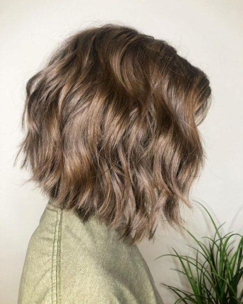 dünnes Haar Federhaarschnitt hair