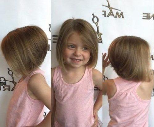 Haarschnitte für kleine Mädchen