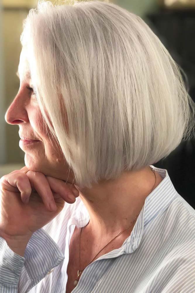 Kurzhaarschnitte für Frauen über 50 im Zeitraum 2021-2022