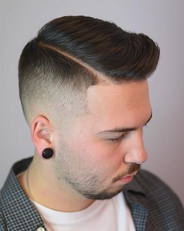 Das Seitenteil für dünnes Haar