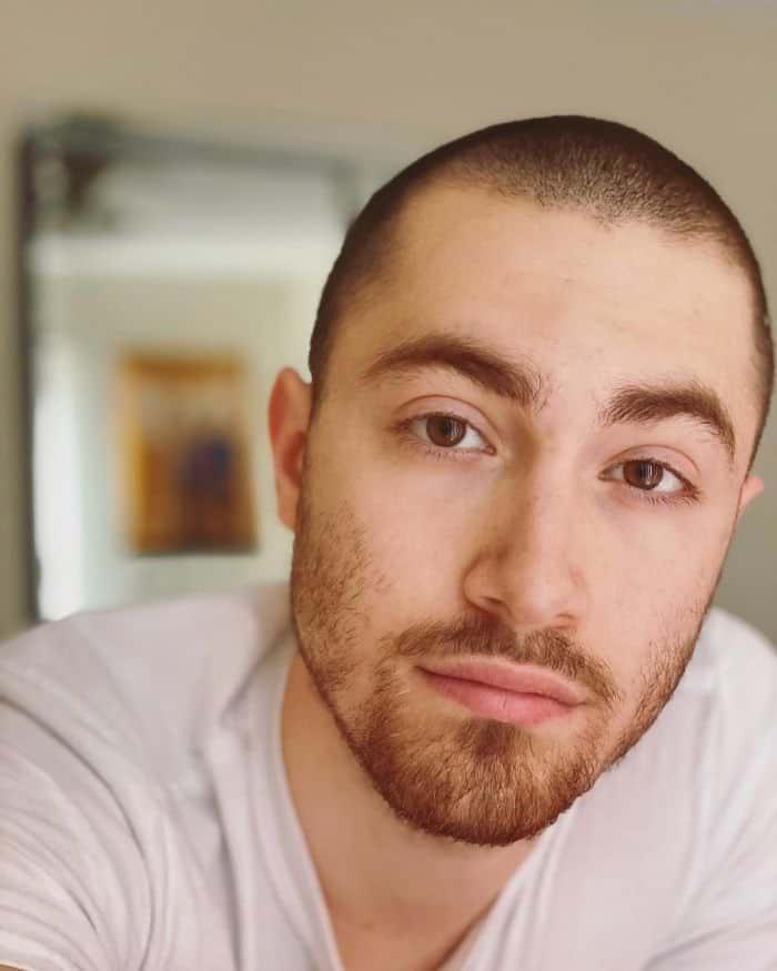 Frisuren für quadratische Gesichtsform - Buzz Cut