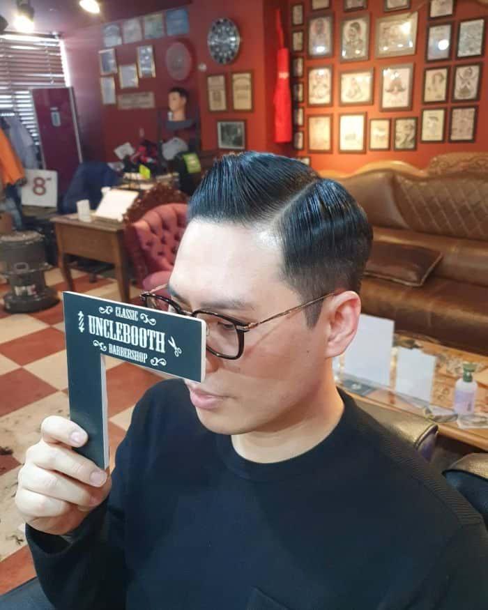 Frisuren für längliche Gesichtsform - Ivy League