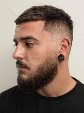 Der verblassende Haarschnitt