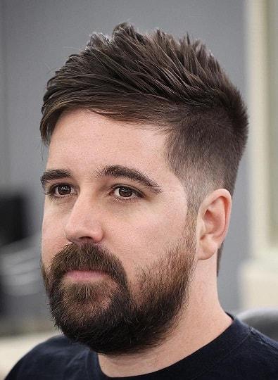 Side Short Long Top Haircut mit mehr Volumen