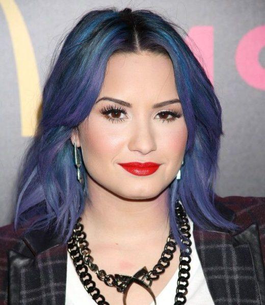 Bob Demi Lovato Haare