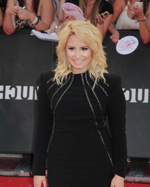 Demi Lovato Kurzhaarschnitt