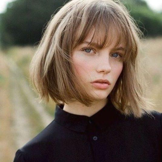 mittlerer französischer Haarschnitt