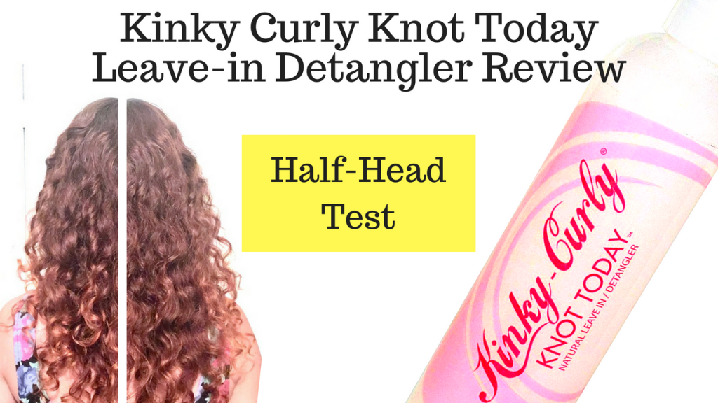 Kinky Cury Knot Leave in Conditioner Review