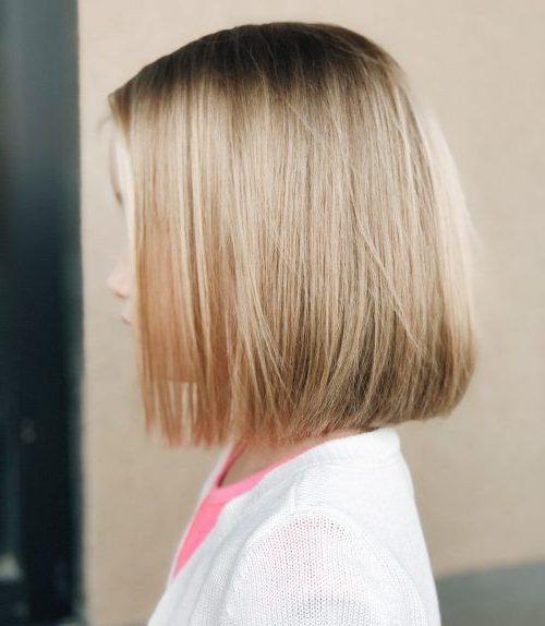 Haarschnitt für Mädchen Kinder
