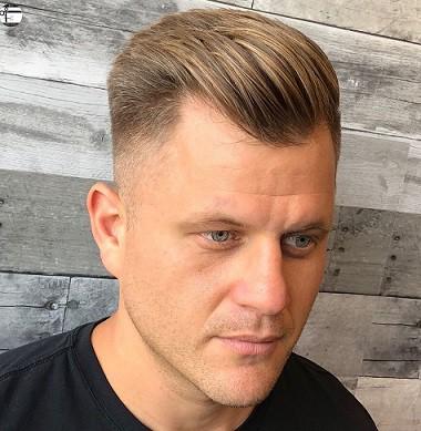 Die saubere Rasur für zurückgehenden Haaransatz