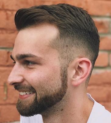 Top Texture Close Cut, um Ihre Glatze zu verbergen