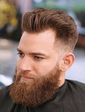 Der vorgeschriebene Kurzhaarschnitt für zurückgehendes Haar