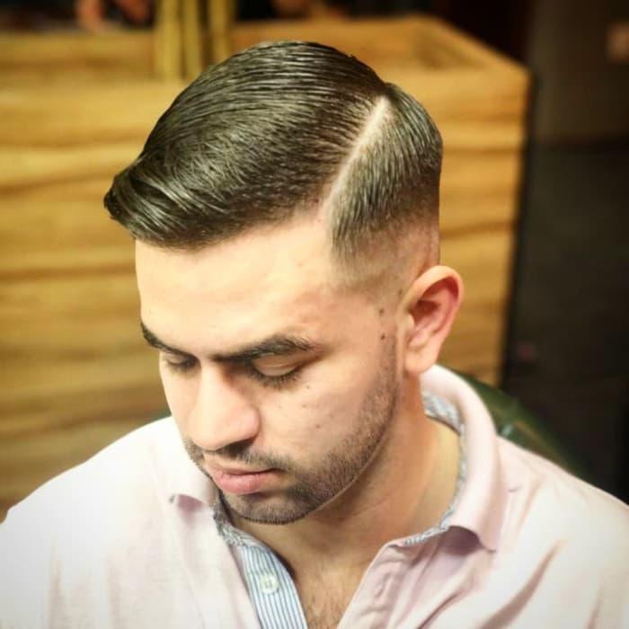 College-Kontur-Haarschnitt