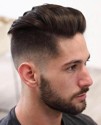 Die verblasste Undercut-Frisur