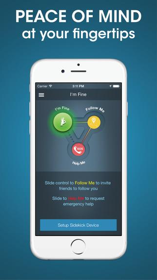 persönliche Sicherheits-Apps