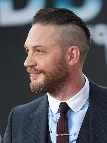 Der klassische Tom Hardy-Haarschnitt