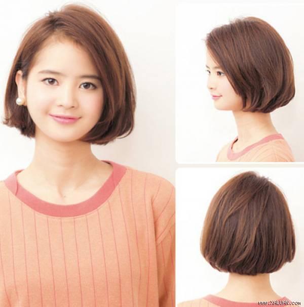 Kurzer Bob-Haarschnitt