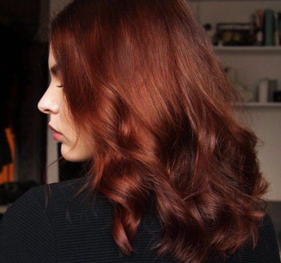 goldene kupfer haarfarbe