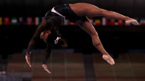 Simone Galle bei den Olympischen Spielen